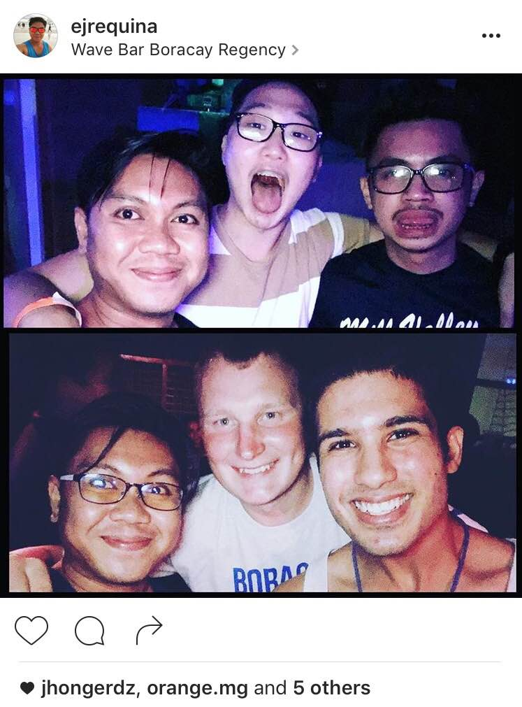 Boracay Solo traveler new friends
